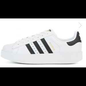 New**Adidas Superstar bold sneaker womens size 6